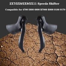 Shifters Groupset Brake Speed-Lever Road-Bike SENSAH R8000 7-2x10 Bicycle Derailleur