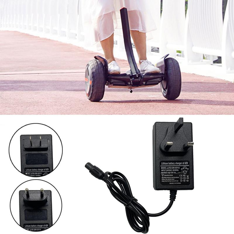 DC 42V 1A For Xiaomi/Hoverboard Balance Car Electric Scooter Power Adapter Charger US/EU/UK Plug Mini Charg