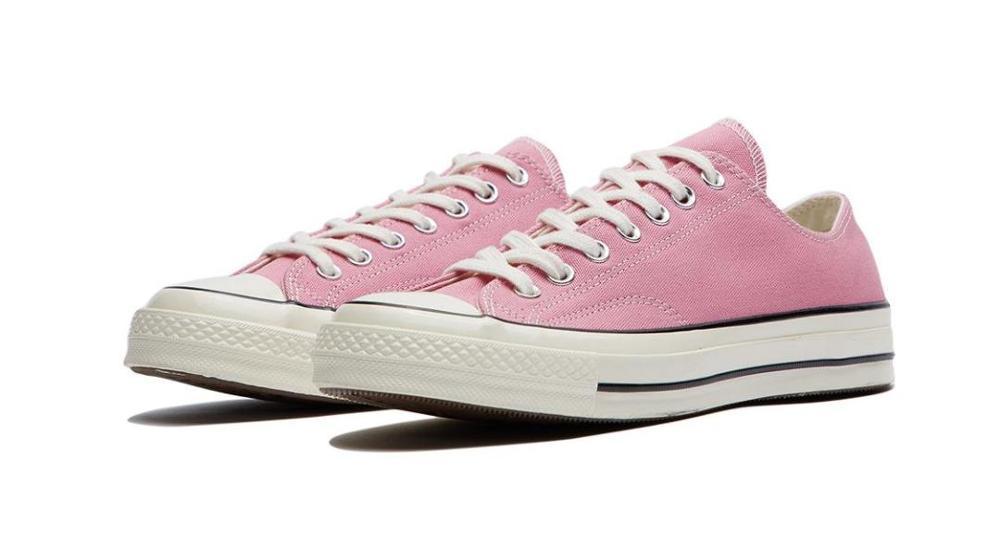 Оригинальные кроссовки для скейтборда converer All Star 1970s, удобные повседневные прочные розовые парусиновые кроссовки на плоской подошве для пов...