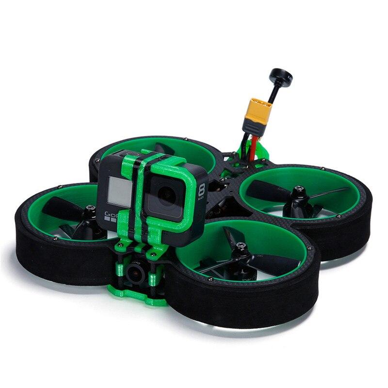 Iflight verde hornet 3 Polegada succex-e mini f4 caddx eos2 cam cinewhoop 4S rc quadcopter multirotor fpv corrida zangão