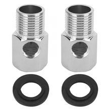 2 шт соединитель G1/2in цинковый сплав 3 способа соединителя аксессуары для очистки воды