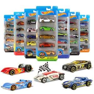 Горячие колеса оригинальный литье под давлением 1:64 металлический автомобиль Бэтмен мини модель автомобиля дети игрушки для детей Oyuncak араб...