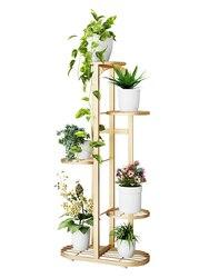 W kwiaty do postawienia na półkę wielowarstwowa półka domowa żelazny balkon salon wnętrze nowoczesna dekoracja stelaż stojący w Półki dla roślin od Meble na