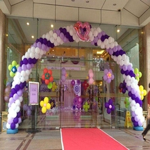 Latex Balloon Arch Frame 10 Bars and Two Base Arches