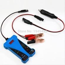 Горячая 12 В светодиодный дисплей для смарт-автомобиля цифровой тестер батареи Вольтметр анализатор генератора авто мотоцикл диагностические ремонтные инструменты