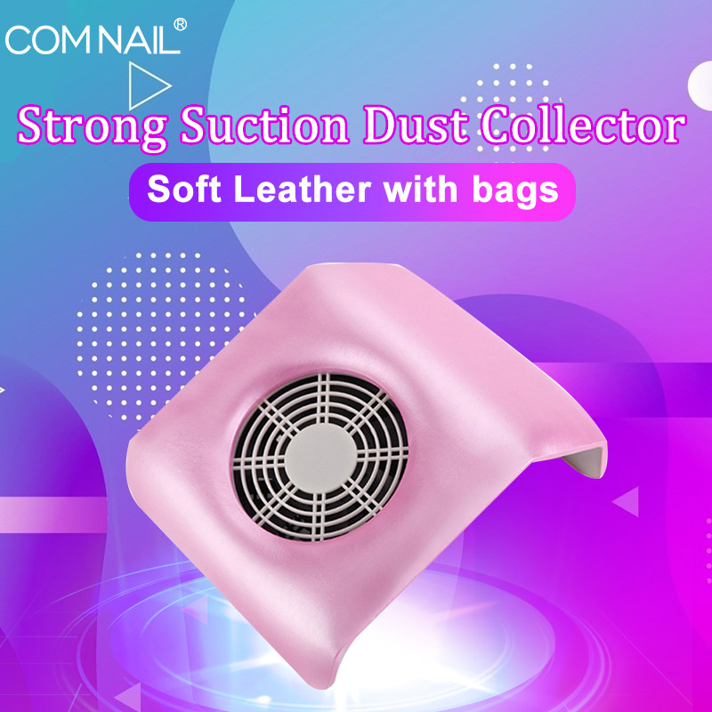 Vacuum Cleaner For Manicure Nail Dust Suction Collector Vacuum Cleaner With Powerful Fan Dust Collecting Bag Nail Art Equipment