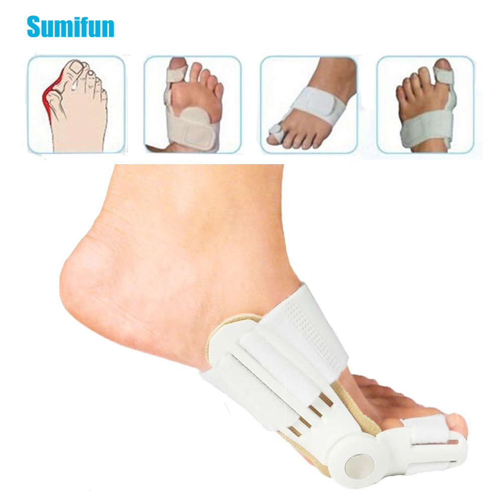1pcs Hallux Valgus Correction Big Toe Straightener Orthopedic Supplies Pedicure Foot Care Bunion Splint Toe Separator