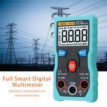 Multímetro Digital DC AC voltímetro, medidor de corriente con prueba de continuidad de diodo, automático, multifunción, antiquemaduras S7