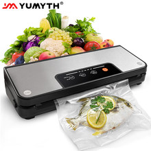 YUMYTH Household Vacuum Sealer Machine With Vacuum Bags Roll Sous Vide Vacuum Packing Machine For Food Storage T285