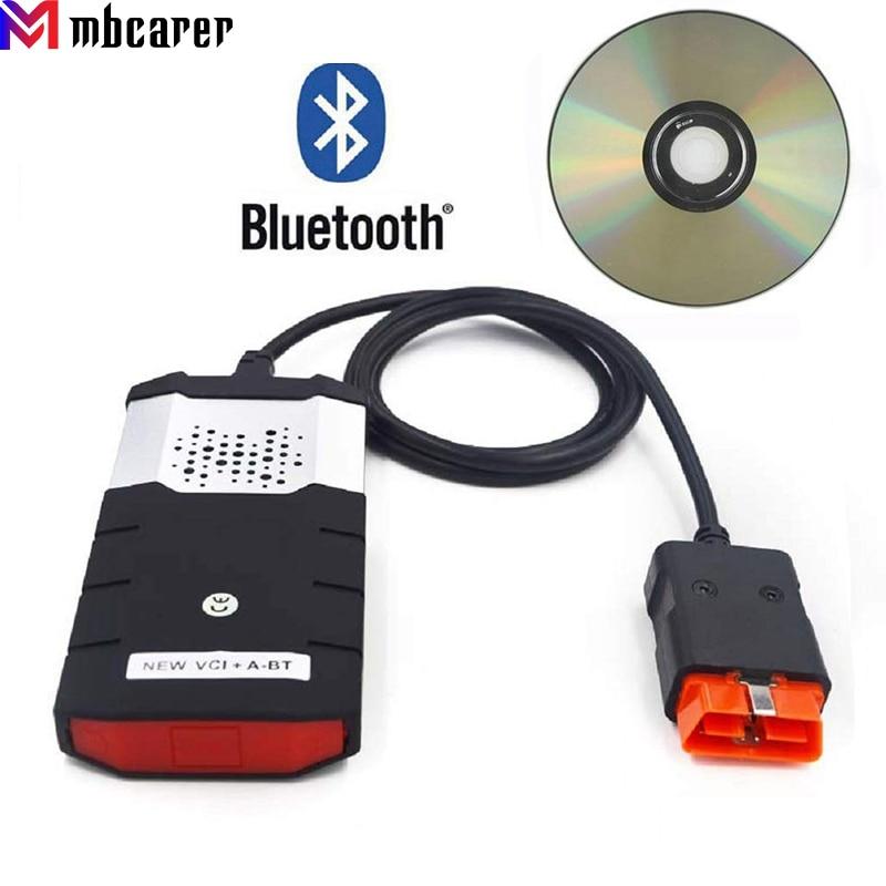 New VCI Car Truck Scan Delphis Diagnostic Repair Tools Keygen for DS 150E Bluetooth TCS CDP Pro Plus OBD2 Scanner Fault Detector
