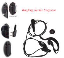 Baofeng uv5r плюс bf 888s Ушные крючки иди и болтай walkie talkie