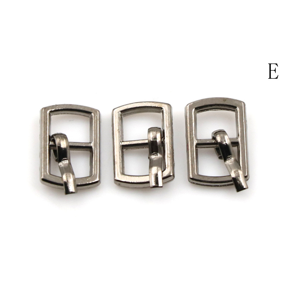 3/10PCS 4.5mm Mini Buckle DIY Patchwork Buckle For Dolls Clothing Adjustable Accessories Handmade Sewing 14