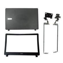 Capa traseira para laptop, moldura dianteira/lcd capa com estojo