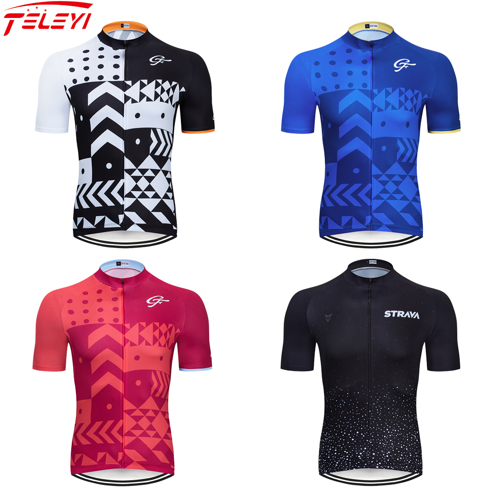 STRAVA 2020 Cycling Jersey Mtb Bicycle Clothing Bike Wear Clothes Short Maillot Roupa Ropa De Ciclismo Hombre Verano Bike Jersey