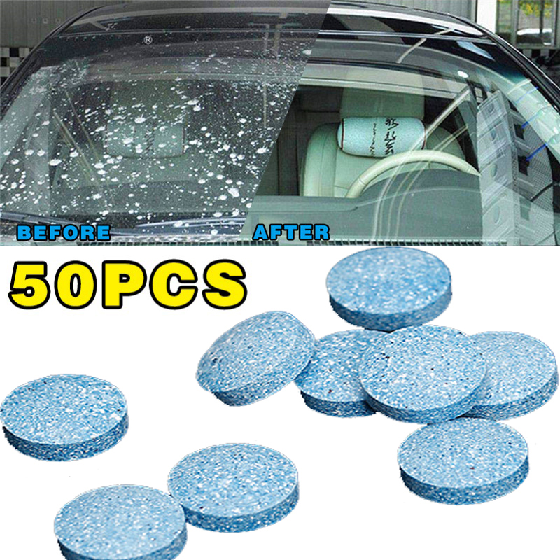 10/20/50Pcs Multifunctional Effervescent Spray Cleaner Set Without Bottle Car Window Windshield Glass Cleaning Dropshipping