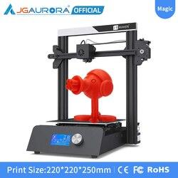 Jgmaker Magic 3D Printer Diy Kit Sd-kaart Print Filament Opraken Detectie Hervatten Print Metalen Base 3D Printer Size 220x220x250mm