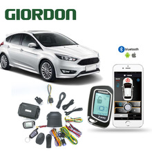 2 Weg Auto Alarm Systeem Lcd Pager Display Remote Engine Start Universal Turbo Timer Modus Shock Sensor Alarm Security