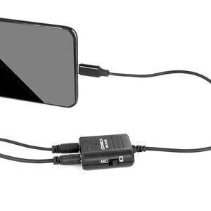 Image 4 - COMICA SPX TC רב תפקודי TRS TRRS 3.5mm מיקרופון כדי USB סוג C אודיו כבל מתאם עבור Huawei סמסונג HTC טלפונים חכמים