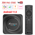 Android TV Box Android 11.0 8K X88 PRO 20 HD 8GB 64GB 128GB RK3566 2.4G 5G WiFi 1000M LAN Bluetooth 4K HD Smart Set Top Box