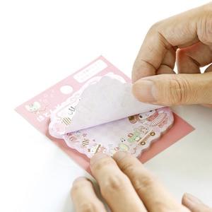 Image 5 - 30packs/lot kawii del fumetto Giapponese adesivo memo sticky segnalibro promemoria carino memo pad per la scuola e ufficio fornitori commercio allingrosso