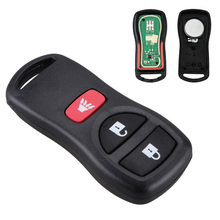 цена на 315MHZ 3 Buttons Car Keyless Entry Remote Key Fob Replacement For Infiniti/Nissan Frontier Murano Armada Pathfinder 2002-2008