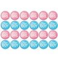 Пол раскрыть кнопки Pin-24 штуки в стиле пин-ап знак Аксессуары для девочек или команда Мальчики вечеринки будущей матери, расходные материалы...