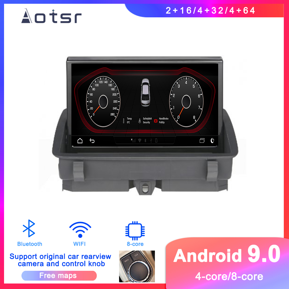 <font><b>Android</b></font> 9.0 Car DVD player GPS Navigation For <font><b>Audi</b></font> Q3 2011-2018 Car Auto <font><b>Radio</b></font> stereo multimedia player touch screen head unit image