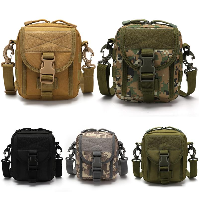 Military Tactical Backpack Camouflage Molle Bag Shoulder Hiking Camping Climbing Daypack 800D Backpack Hunting Outdoor