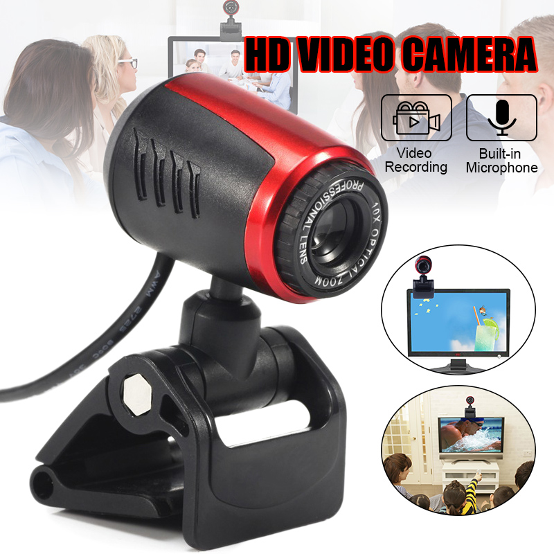 Student Teaching HD Webcam 1080P Streaming Web Camera with Microphones Autofocus Webcam for For Computer Laptop