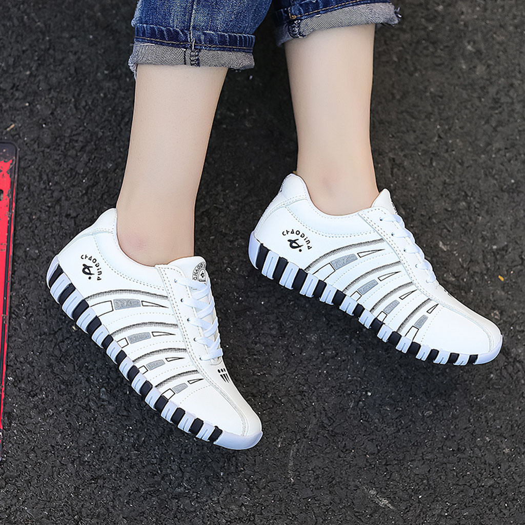Fashion Ladies Sneaker Woman Casual Shoes Lady Loafers Women Flats Breathable Comfortable Flat Casual Shoes Hiking Sneakers #809