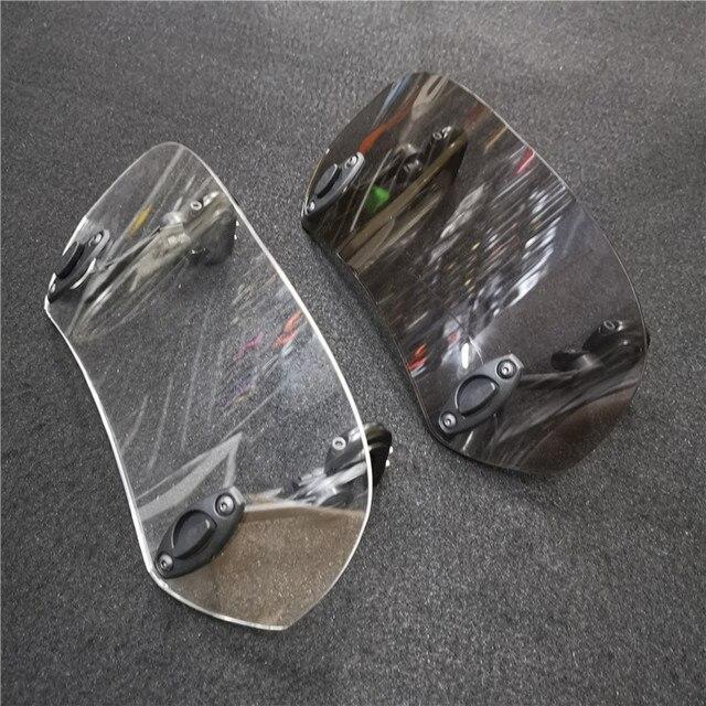 Pour Benelli TRK 502 BN600GT TRK502X BJ600GS BJ150T BJ250T augmenté réglable pare-brise Spoiler déflecteur dair