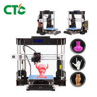 Hot Sale Competitive CTC A8 3D Printer Reprap Prusa i3 High Precision DIY FDM 3D Printer With CD USB Connector