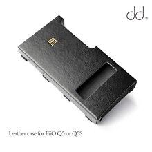 DD C Q5 Bao Da Cho Fiio Q5 Hay Q5S USB DAC AMP, AMP Bó Ốp Lưng.