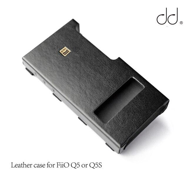DD C Q5 เคสหนังสำหรับ FiiO Q5 หรือ Q5S USB DAC AMP, AMP Bundling กรณี