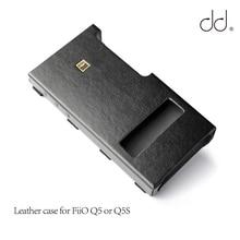 DD C Q5 FiiO Q5 또는 Q5S USB DAC AMP, AMP 번들 케이스 용 가죽 케이스.