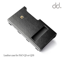 DD C Q5 Leather case for FiiO Q5 or Q5S USB DAC AMP, AMP Bundling case.