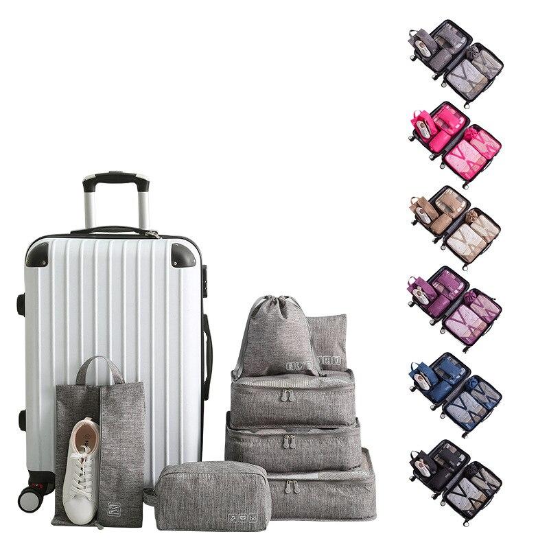 Travel Storage Bag Waterproof Men And Women Shoes Set Underwear Cosmetics Storage Bag Zipper Luggage Handbag Accessories