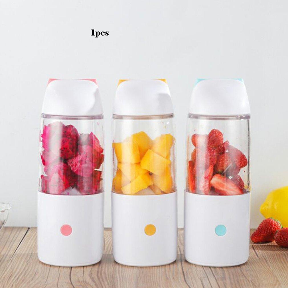 Taza de jugo exprimidor de fruta taza portátil Mini exprimidor al aire libre taza Usb cargador tipo taza moda profesional