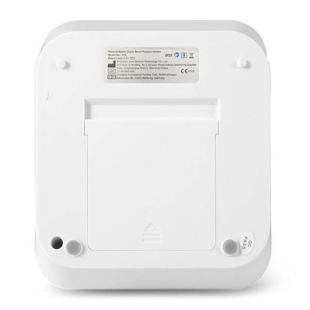 Cigii Home health care Pulse measurement tool Portable LCD digital Upper Arm Blood Pressure Monitor 1 Pcs Tonometer 3
