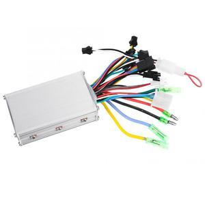 Image 3 - 24 V/36 V/48 V 350W فرش تحكم شاشة الكريستال السائل لوحة مع الإبهام خنق مجموعة ل الكهربائية دراجة E الدراجة سكوتر كهربائي
