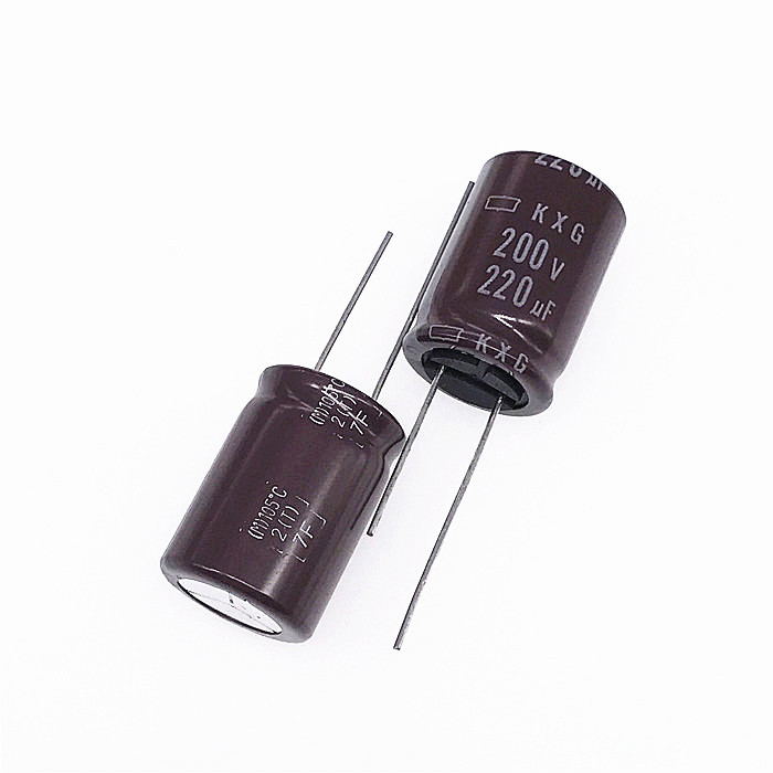 10pcs NEW NIPPON KXG 200V220UF 18x25MM NCC electrolytic Capacitor <font><b>220UF</b></font> <font><b>200V</b></font> CHEMI-CON <font><b>200v</b></font> <font><b>220uf</b></font> High frequency long life image