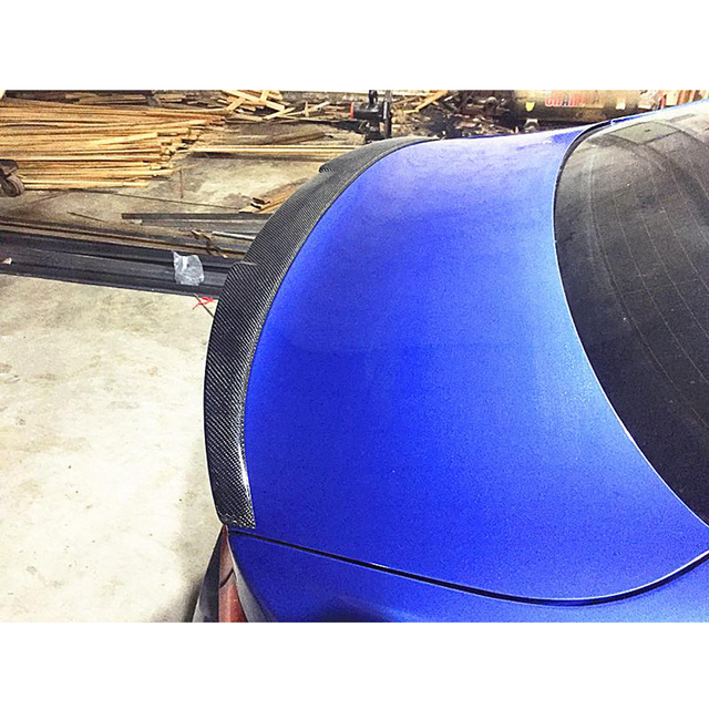 Aileron daile de lèvre de botte de aileron de coffre arrière pour BMW série 4 F32 F82 M4 coupé 2014 - 2019 Fiber de carbone