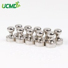 10pcs Chess shape Strong Push pin Office thumbtack Strong Neodymium Fridge Magnets Magnetic push pins for whiteboard blackboard
