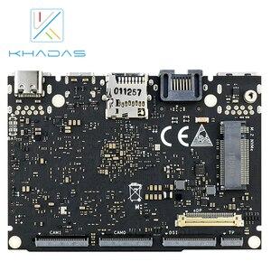 Image 2 - 新しい khadas sbc エッジ v プロ RK3399 と 4 グラム DDR4 + 32 ギガバイト EMMC5.1 シングルボードコンピュータ