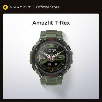 Умные часы Amazfit T-rex T rex, 5 АТМ, 14 спортивных режимов
