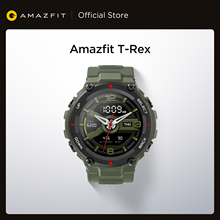 Amazfit-reloj inteligente t-rex para Android e iOS, reloj inteligente Amazfit t-rex con 14 modos deportivos, resistente al agua hasta 5atm, GPS/GLONASS MIL-STD, 2020