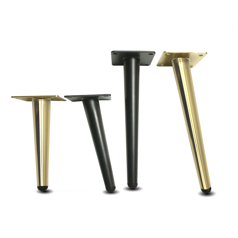 4Pcs/Set Furniture Table Legs Metal Tapered Sofa Cupboard Cabinet Furniture Leg Feet 12/15/20/25/30CM Stool Chair Leg Feet