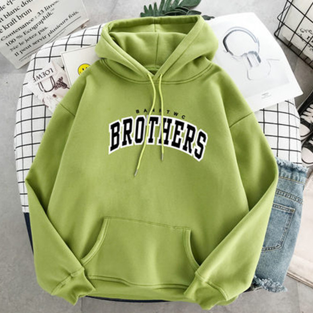 BROTHERS PATTERN THEMED HOODIE (8 VARIAN)
