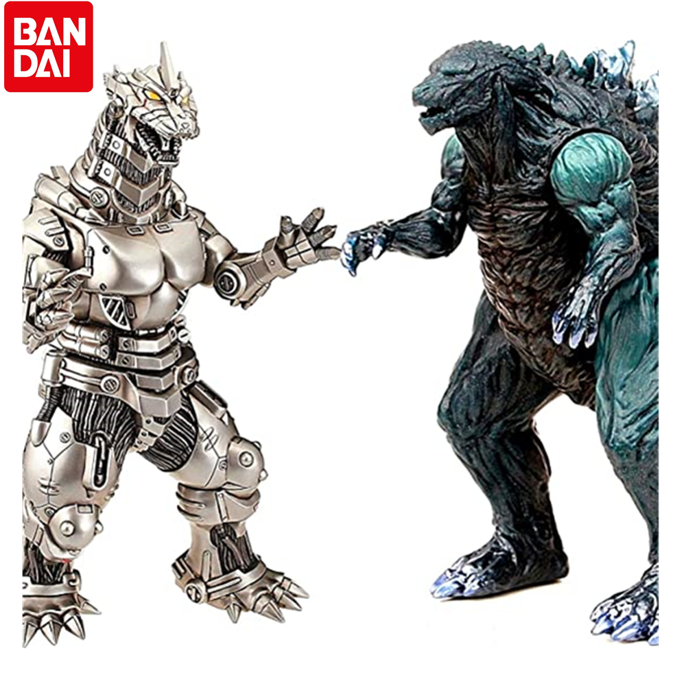 BANDAI Godzilla Earth Mecha Godzilla Figures King of The Monsters 2021 Movable Joints Action Model Kid gift Toy