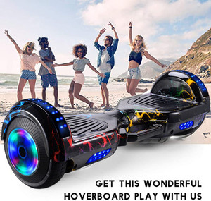 Hoverboard Electric Scooter 7 Inch 2 Wheels Smart Balance Scooter Hover Board Standing Smart Wheel Motorized For Children #45